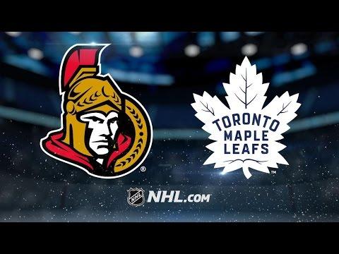 Hoffman, Pyatt power Senators past Maple Leafs, 3-2