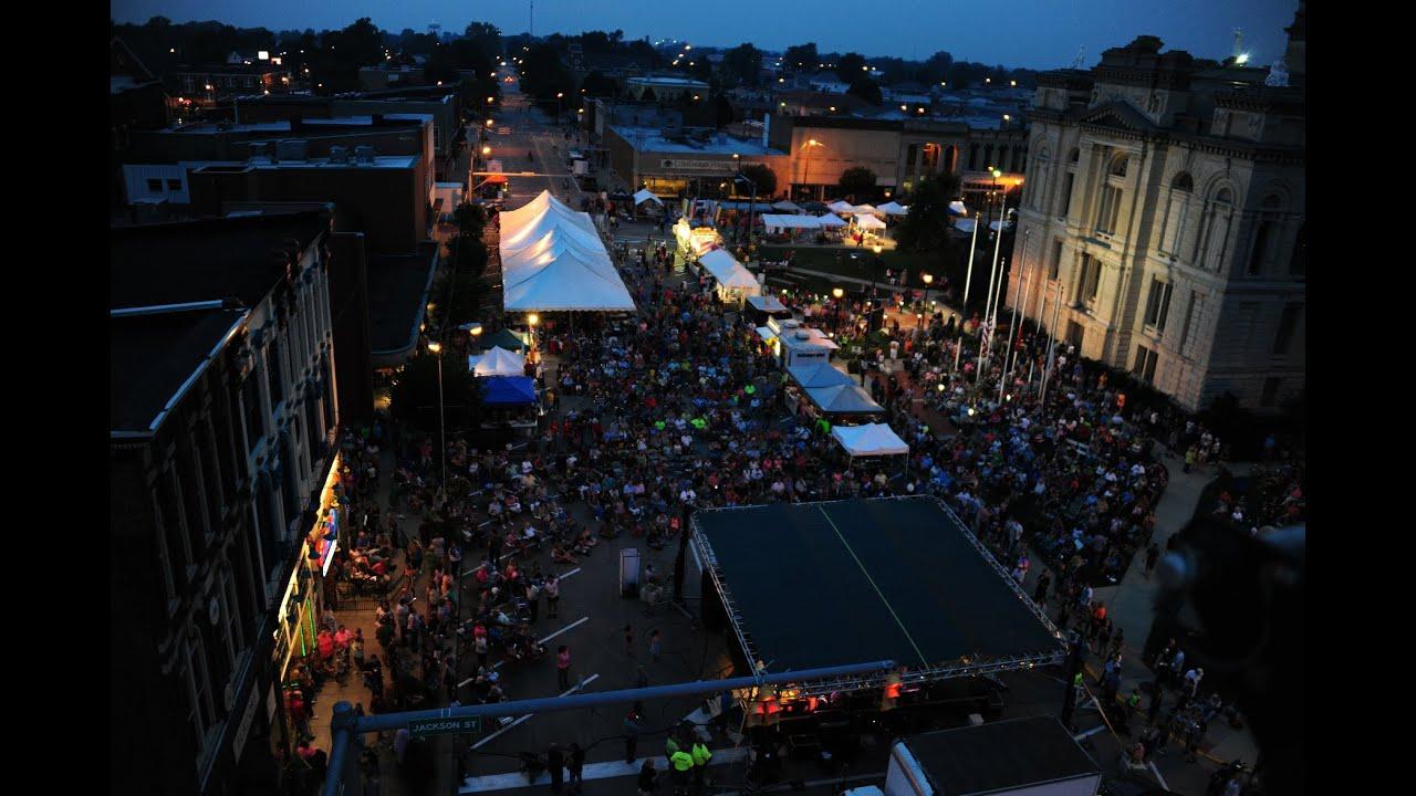 Hot Dog Festival In Frankfort Indiana