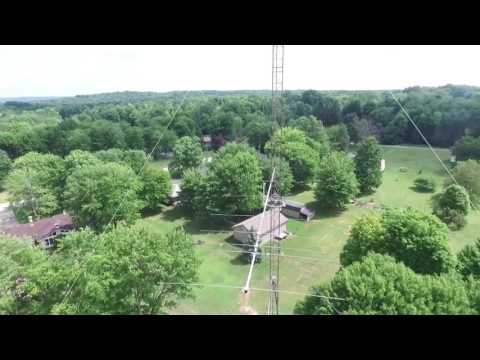 K3LR Antenna Farm Tour for Ham Nation (twit.tv)