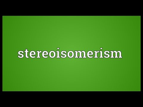 Header of stereoisomerism