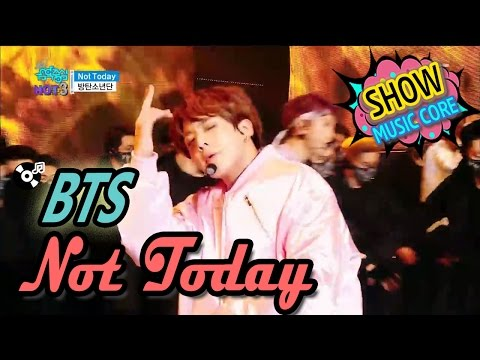 [Comeback Stage] BTS(방탄소년단) - Not Today, Show Music Core 20170225