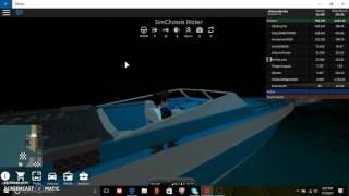 roblox v s #3 custom jet ski and speed boat