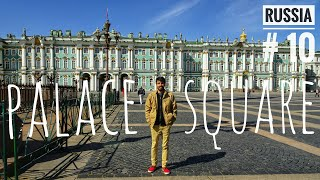 My Hotel in St.Petersburg | Visit to Palace Square | Summer in ST. PETERSBURG RUSSIA