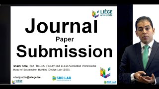 Journal Paper Submission Process