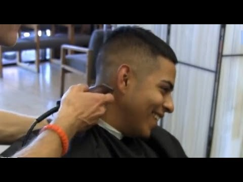 mens clipper haircut how to cut a medium high and tight