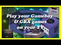 Best Options to play Gameboy Advance (GBA) on your TV