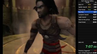 Prince of Persia Warrior Within Any% Speedrun 22:44