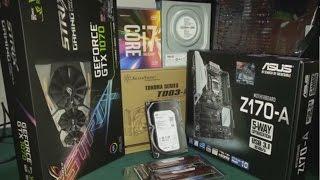 SIVI SOĞUTMA i7 6700K GTX 1070 STRIX  Z170 A GAMING PC TOPLAMA