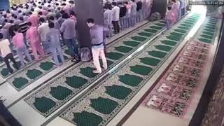 Astaqfirullah IBLIS Memeprlihatkan Wujud Aslinya Didalam Masjid   Copy