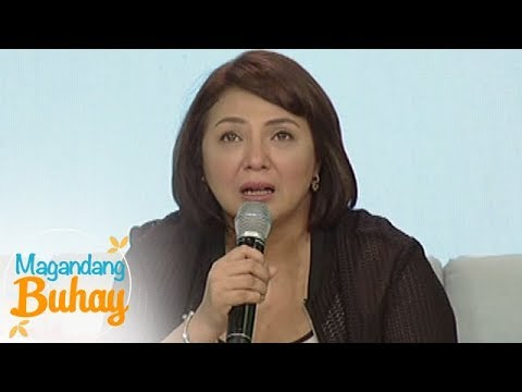 Magandang Buhay: Cherry Pie gets emotional while giving a message to her mom
