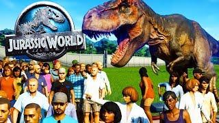 COSTRUIAMO LA GABBIA DEL INDOMINUS REX! - Jurassic World Evolution
