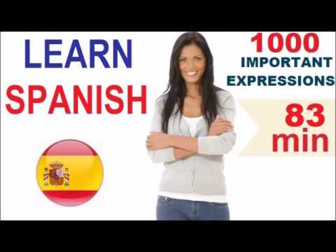 Learn Spanish - Common Words & Expressions