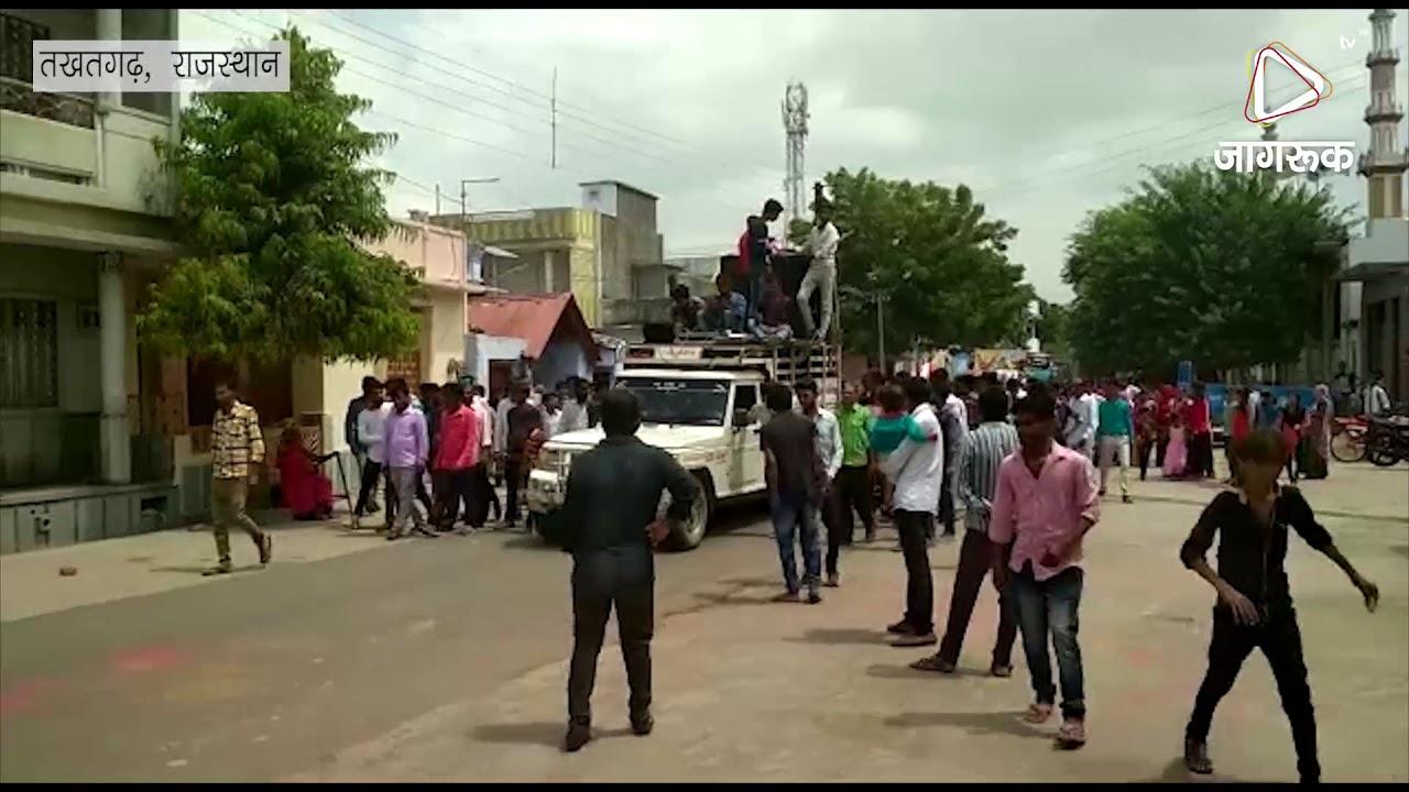 तखतगढ़ : मेघवाल समाज ने निकाली ऋषि देव की शोभायात्रा