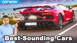 The BEST sounding cars of each engine type: 4 cyl to 12 cyl