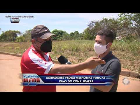 Moradores pedem melhorias para as ruas do Conjunto Joafra