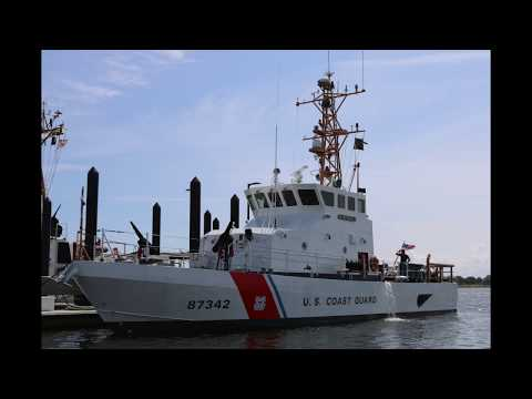 USCG Cutters Back at Sandy Hook