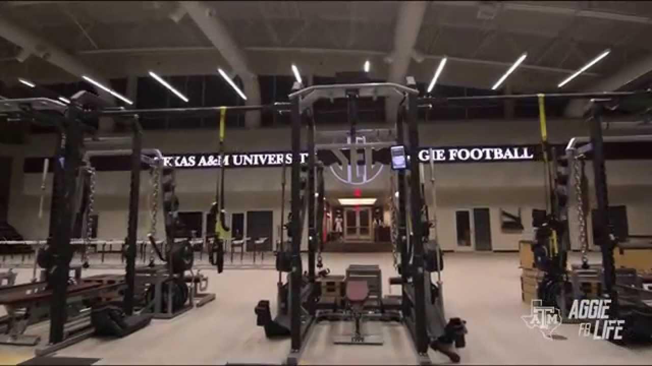 Texas A M Football Facilities Youtube