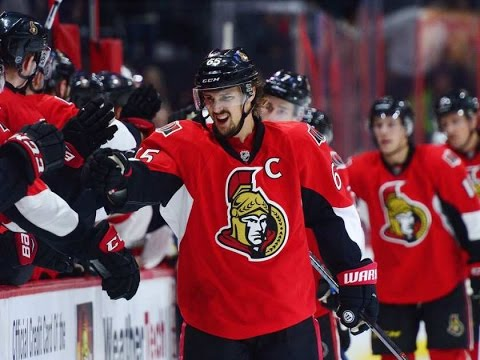 Erik Karlsson   Every Point from 2016-17 NHL Playoffs (SO FAR)
