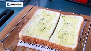 日本récolte Solo Oven Avancé :香草蒜蓉吐司 Garlic Toast