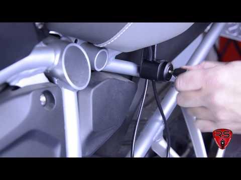 Helmschloss BMW R 1200 GS LC & Adventure LC (auch für luftgekühlte erhältlich)