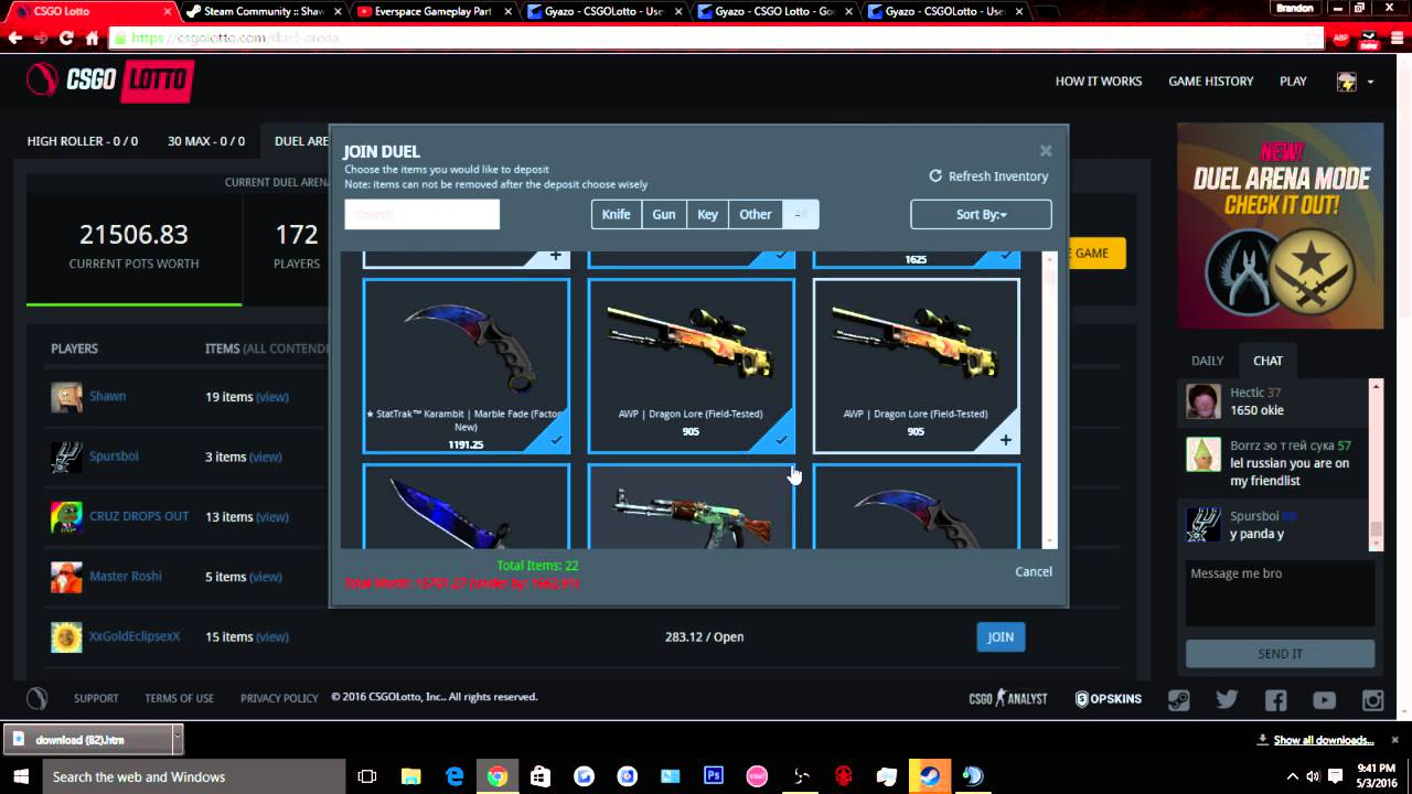 Cs Go Lotto