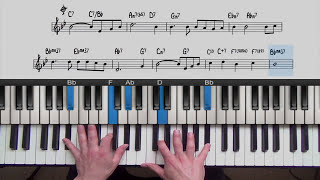 Jazz Piano Lesson: My Foolish Heart | PianoGroove.com