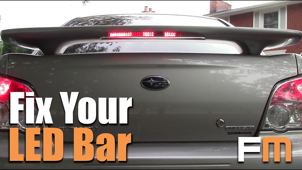 How To Fix Your Brake Light CHEAP! - YouTube