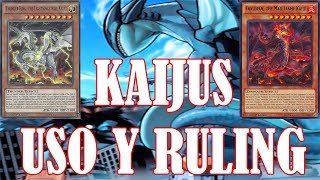 KAIJUS - USO Y RULING/ Ruling time!