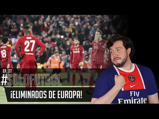 PODCAST DE FUTBOL #SOLOFUTBOL EP: 177 *Champions League * Liga MX * America vs Cruz azul