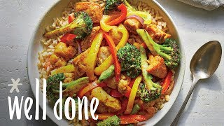 How to Make Chicken Curry Stir-Fry | Recipe | Well Done