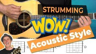 Easy Country Folk Strum Pattern [Guitar Strumming]