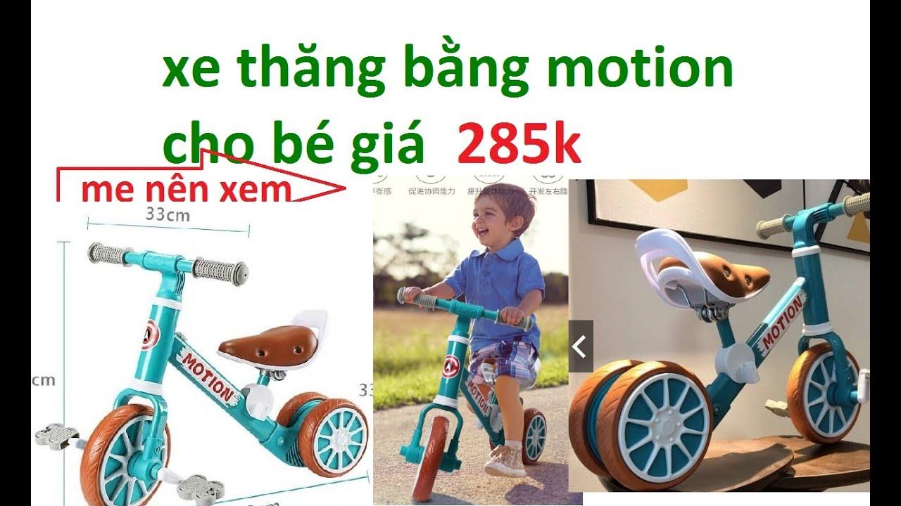 XE MOTION :  xe đạp motion cho bé _  xe thăng bằng motion  _ cách lắp xe motion 2020