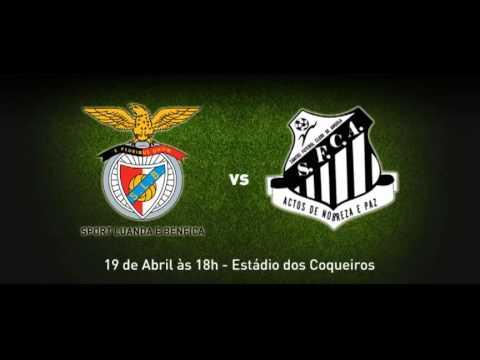 Sport Luanda e Benfica vs Santos FC