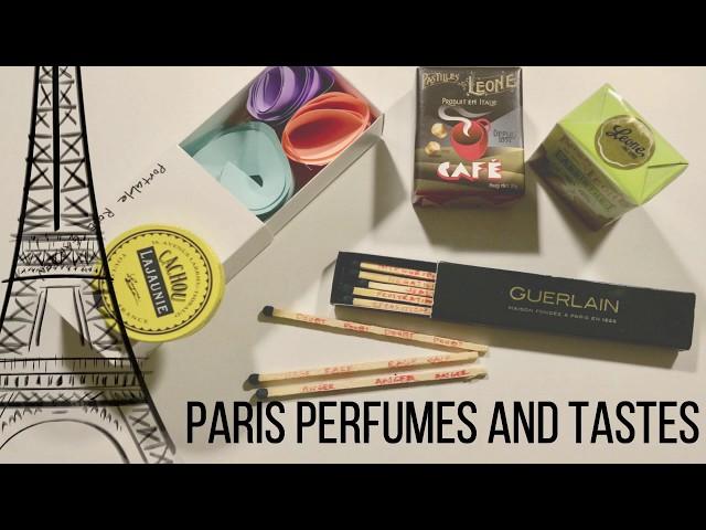 AMANDA CRIDER   PARIS PERFUMES AND TASTES