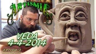 WEEKEND PLANS ~ VEDA4 (2014) & HOW TO SCULPT A ARTISMIA FACE MUG