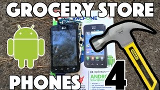 Bored Smashing - GROCERY STORE PHONES! Episode 4