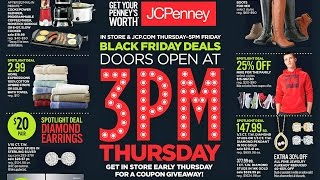 JC Penny Black Friday Ad 2016 Possible $500 Free Coupon!