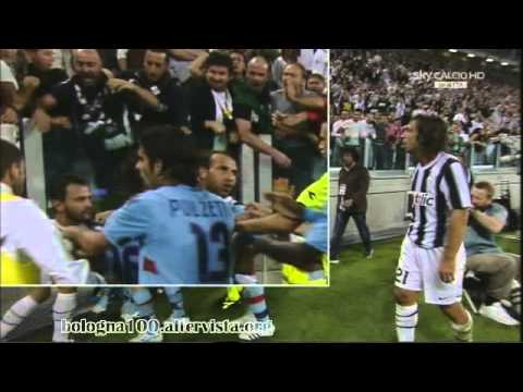 "Bologna FC 1909 21/09/2011 Juventus – Bologna 1-1 Buffon ""l'educatore"" nel dopo gara"