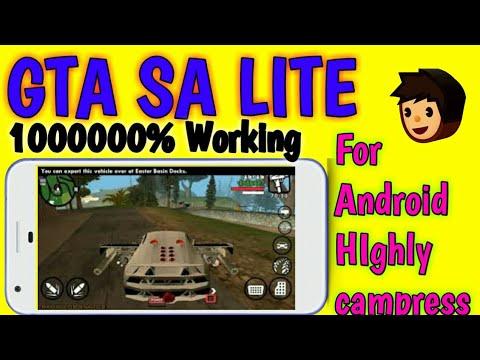 GTA SA Lite - Android download Mali | GTA San Andreas lite APK & Data  Download Android