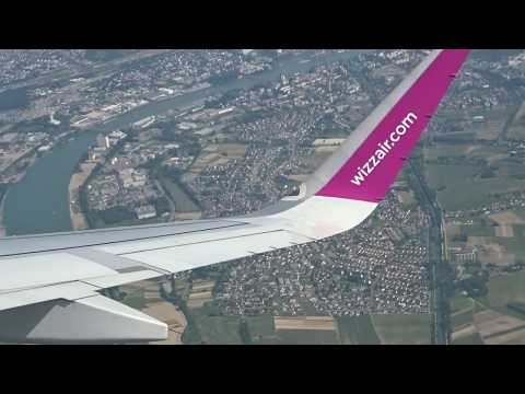 Great Airport View! A321 Take-off From Basel-Mulhouse-Freiburg EuroAirport (BSL)