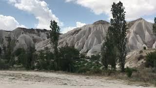 Kapadokya Göreme Milli Parkı vadi içi 7. Kilometre