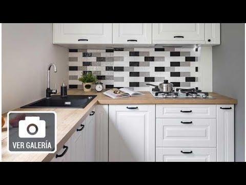 10 ideas para aprovechar el espacio de una cocina pequeña - YouTube 1d34e1ca252f