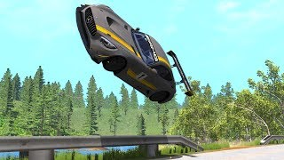 Out Of Control Car Crashes #3 - BeamNG Drive