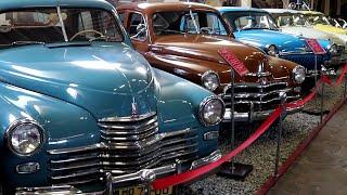 Музей ретро авто Фаэтон Запорожье. Редкие ретро автомобили
