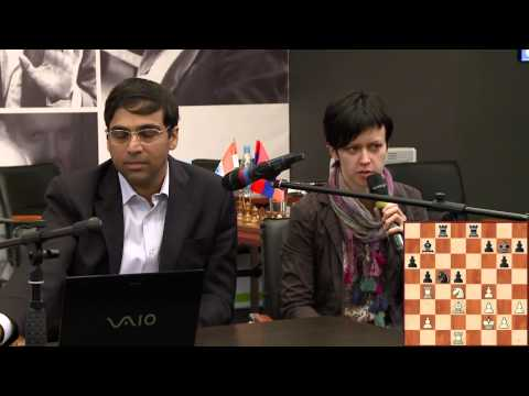 Botvinnik Memorial. Day 1. Viswanathan Anand commenting on his win against Levon Aronian