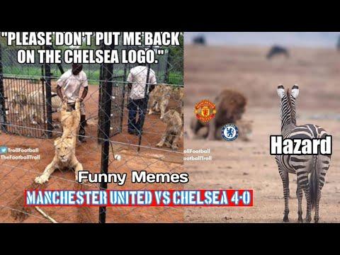 Manchester United Vs Chelsea 4 0 Funny Memes Reactions Youtube