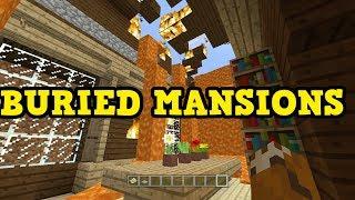 Minecraft Xbox - UNDERGROUND MANSIONS + LAVA MANSION