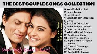 The Best Couple Songs Collection SHAH RUKH KHAN ♥️ KAJOL