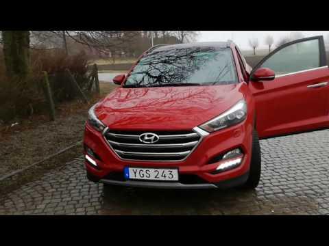 Hyundai Tucson 2018 Test Driving with EuromanDriver