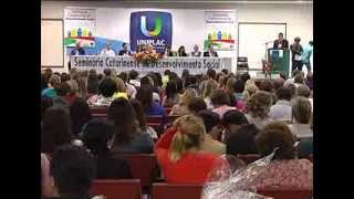 Seminário de Desenvolvimento Social aconteceu em Lages